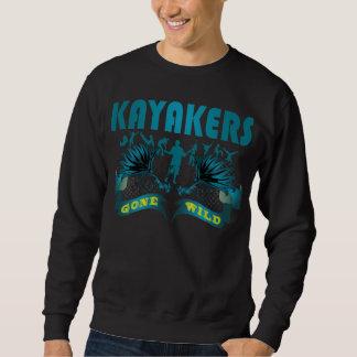 熱狂するKayakers スウェットシャツ