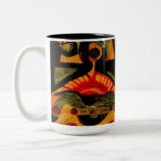 熱 ツートーンマグカップ
