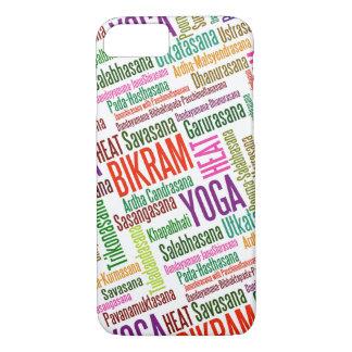 熱BikramのヨガのPractionerのAsanasを感じて下さい iPhone 8/7ケース