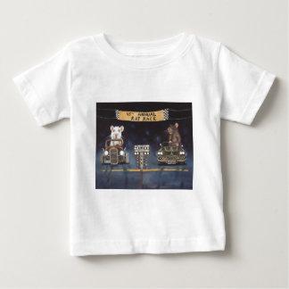 熾烈な競争 ベビーTシャツ