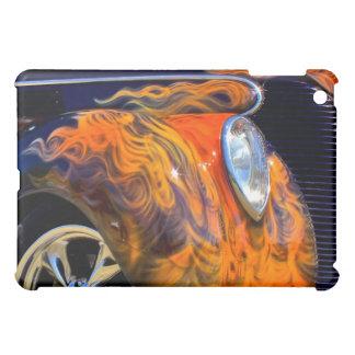 燃えるようで黒くクラシックなiPadの皮 iPad Miniケース
