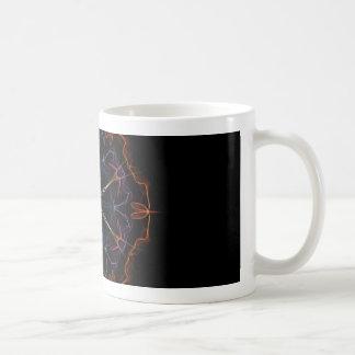 燃えるようなギーク コーヒーマグカップ