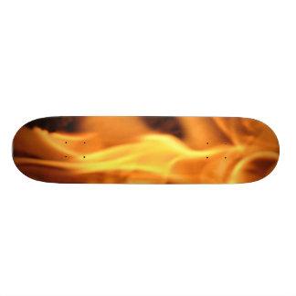 燃えるようなスケートボード 21.6CM オールドスクールスケートボードデッキ