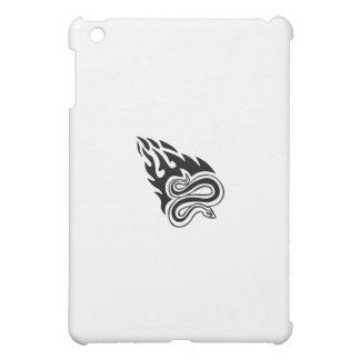 燃えるようなヘビ iPad MINI CASE