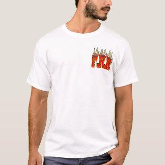 燃えるようなラット牧場 Tシャツ
