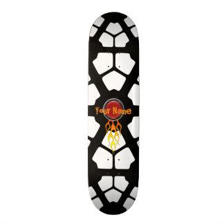 燃えるような一流のカスタマイズ可能なスケートボード 20CM スケートボードデッキ