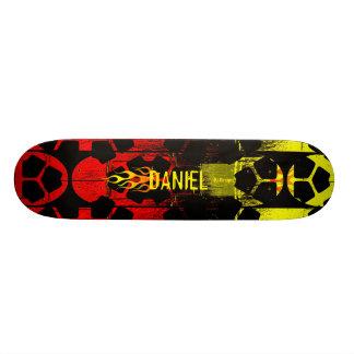 燃えるような名前 19.7CM スケートボードデッキ
