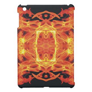 燃えるような悪魔のドラゴン iPad MINI CASE
