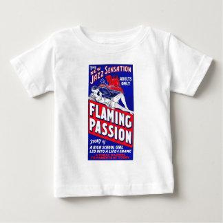 燃えるような情熱 ベビーTシャツ