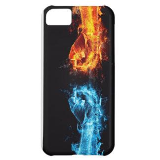 燃えるような握りこぶし iPhone5Cケース