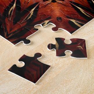 燃えるような羽の万華鏡のように千変万化するパターン ジグソーパズル