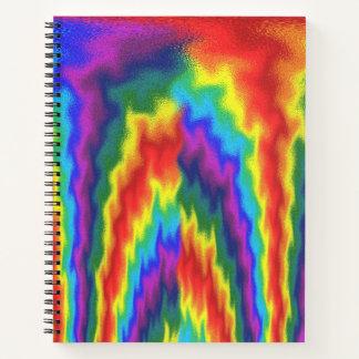 燃えるような虹 ノートブック
