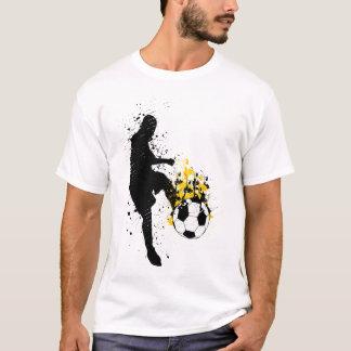 燃えるような蹴り Tシャツ