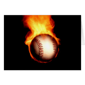 燃えるような野球 カード