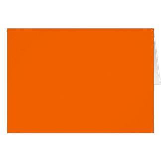 燃えるオレンジ(火色の固体) ~ カード
