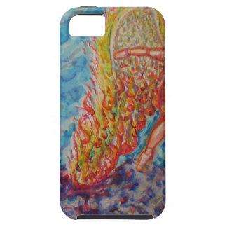 燃える下る天使 iPhone SE/5/5s ケース
