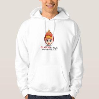 燃える心の炎の頭部 パーカ