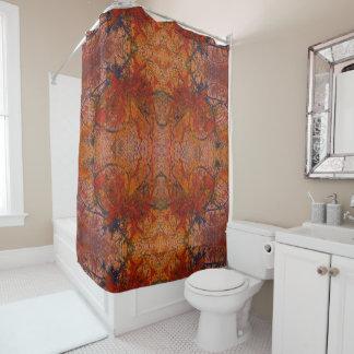 燃え立って花のHotWaxedの芸術のシャワー・カーテンと シャワーカーテン