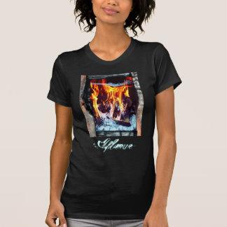 燃え立って Tシャツ