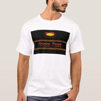 """燃え立つこと""""Samoanプライド"""" Tシャツ"""