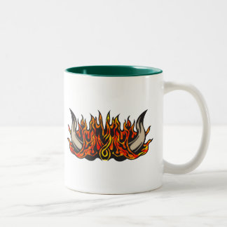 燃え立つブル・ホーン ツートーンマグカップ