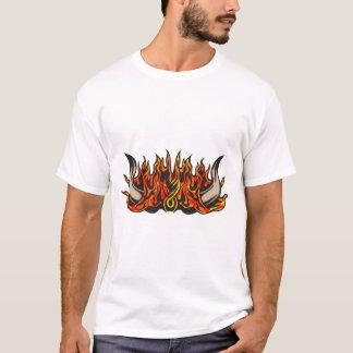 燃え立つブル・ホーン Tシャツ