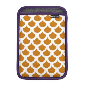 燃やされたオレンジ魚スケール2 iPad MINIスリーブ