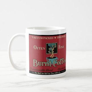 燃やされたコーヒーノスタルジアのマグ コーヒーマグカップ