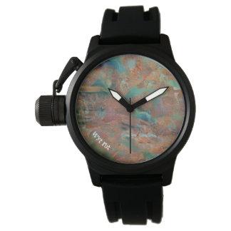 燃やされた銅の都市誇大宣伝 腕時計
