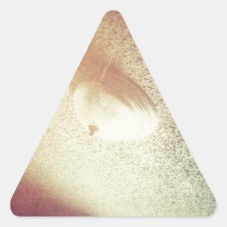 燃焼させた天井 三角形シール