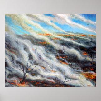 燃焼した地球2014年 ポスター