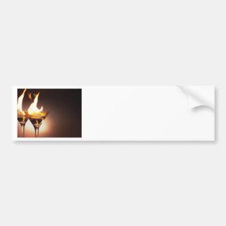 燃焼マルティーニ バンパーステッカー