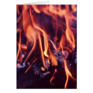 燃焼 グリーティングカード