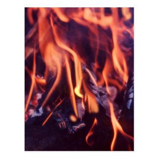 燃焼 ポストカード