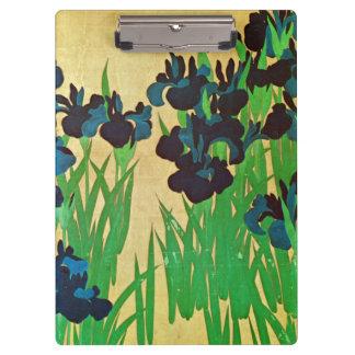 燕子花図の(の部分の)、光琳は(詳細)、Kōrinの日本芸術絞ります クリップボード