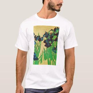 燕子花図の(の部分の)、光琳は(詳細)、Kōrinの日本芸術絞ります Tシャツ