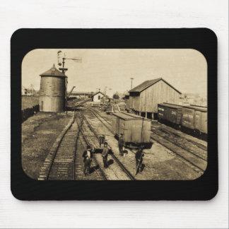 燧石およびPere Marquetteの鉄道 マウスパッド