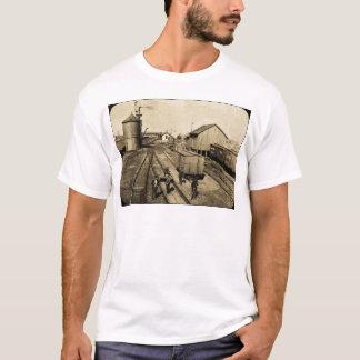 燧石およびPere Marquetteの鉄道 Tシャツ