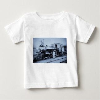燧石及びPere Marquetteの鉄道エンジン# 11 ベビーTシャツ