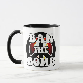 爆弾を禁止して下さい マグカップ