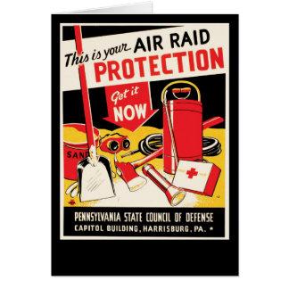 爆撃の保護 カード