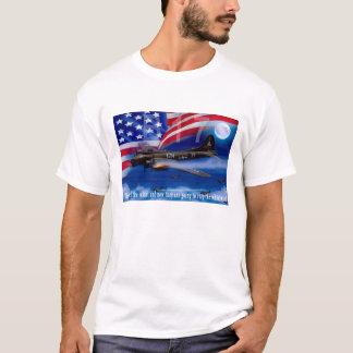 爆撃機のハリスの引用文のB17 Tシャツ