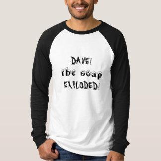 爆発される石鹸! Tシャツ