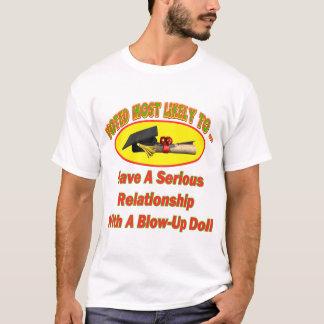 爆発の人形の人間関係 Tシャツ