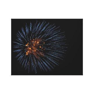 爆発の花火 キャンバスプリント