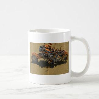 爆発モーターバイク コーヒーマグカップ
