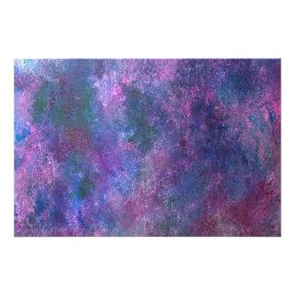 爆発性のモダンな元の手塗りの抽象芸術 フォトプリント