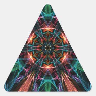 爆発性の中心 三角形シール