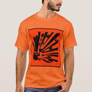 爆発性 Tシャツ