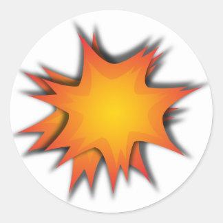 爆発 ラウンドシール